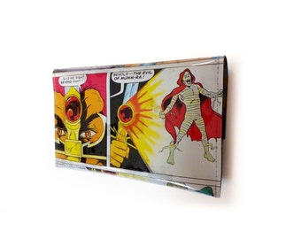 Thundercats Purse - Lion-O & Mumm-Ra - Vintage comic book page in Vinyl