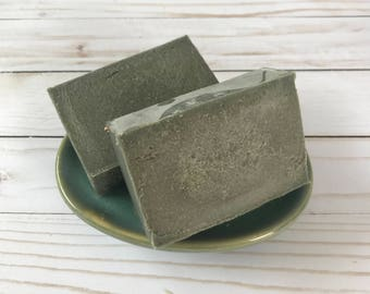 Handmade Goat Milk Soap - Charcoal & Tea Tree