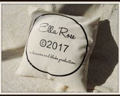 personalized production pillow, parents production pillow, as seen on tv, copy write baby, new grandparents gift, pregnancy reveal,