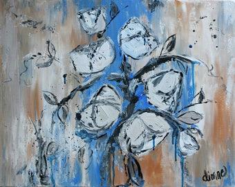"Poised - Hand Painted Original 16"" x 20"""