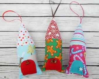 Christmas Tiny House Ornaments