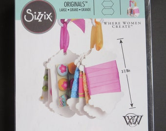 "Sizzix Bigz Dies Fabi Edition - Spools 2.25""X3.875"" - Where Women Create - 660017"
