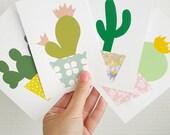 Cactus ansichtkaarten