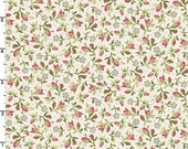 ON SALE - Tiny Rosebuds in Ecru  8326-E - Graceful Moments by Maywood Studio - By the Yard