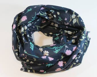 Wildflower floral print oversized scarf