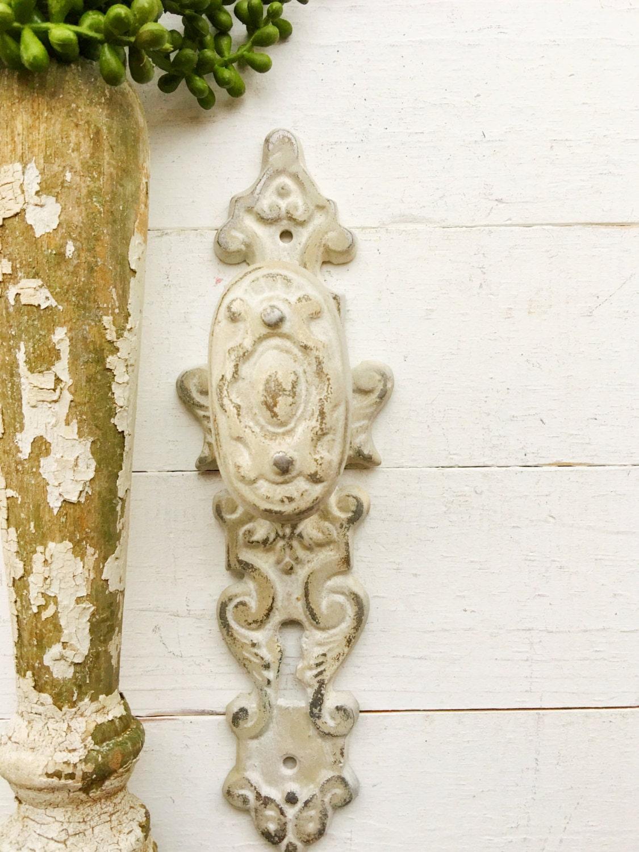 Large Iron Wall Hook Victorian Stylecreamy White Home