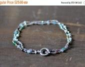 ON SALE spectrum chain bracelet