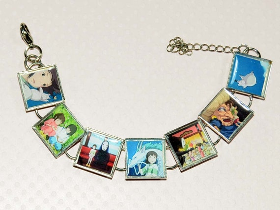 Spirited Away Bracelet with Resin