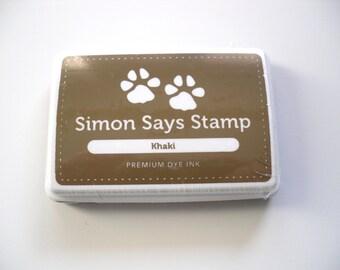 Simon Says Stamp Premium Dye Ink - Khaki Brown