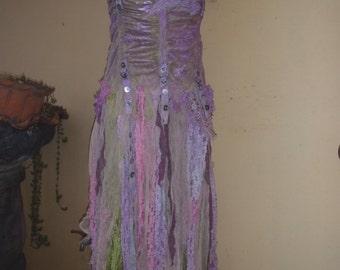 "20%OFF bohemian gypsy wedding bridesmaid boho mermaid dress  ,,small to 36"" bust..."