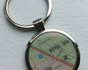 SALE! Royal Oak Berkley Key Chain