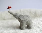 PRE ORDER - wishing elephant - heather grey