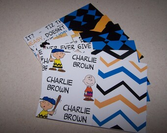 Charlie Brown all occasion cards. Lucy, Peanuts boxed note cards. Lucy Van Pelt handmade cards. Encouragement cards. Charlie Brown and Lucy.