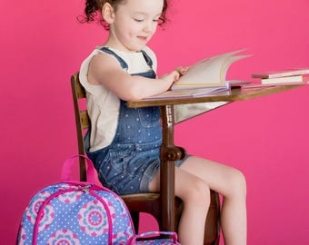 Combo Backpack/lunch bag ~ PRESCHOOL Bookbag Backpack with matching Lunch Bag ~ Back to School