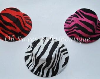 Mini Top Hat Zebra