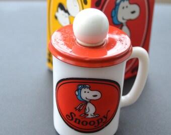 Vintage Avon Snoopy Mug Soap Mug with Box