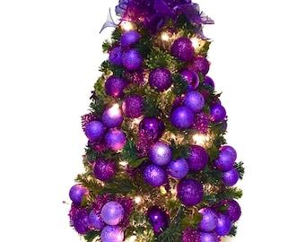 Purple christmas | Etsy
