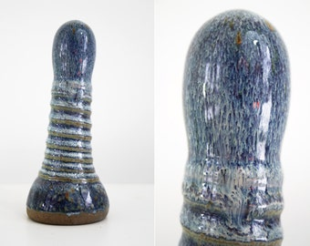 High fire fine art ceramic dildo 35
