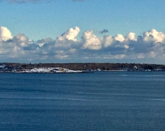 Whipped Cream Sky, My City By The Bay, The Maine Winter View, SPECIALIZING in CUSTOM ORDERS