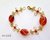 Wire Bracelet Tutorial PDF, Agate bracelet