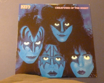 KISS Creatures Of The Night Vinyl Record LP NBLP 7270 PolyGram Records 1982