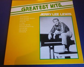 Jerry Lee Lewis Greatest Hits Vinyl Record SV 2087 Quality Records Canada 1981