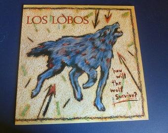 Los Lobos How Will The Wolf Survive? Vinyl Record LP 1-25177 Slash Records Warner Bros. 1984