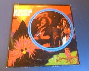 Mountain Avalanche Vinyl Record LP KC 33088 Windfall Columbia Records 1974