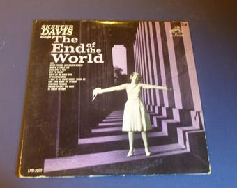 Skeeter Davis Sings The End Of The World Vinyl Record LP LPM-2699 RCA Victor 1963 Rare