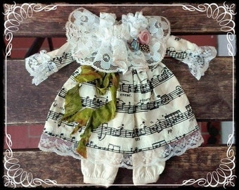 Vintage DRESS for Blythe by Antique Shop Dolls