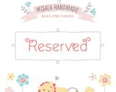 Reserved custom listing for LVoeluv