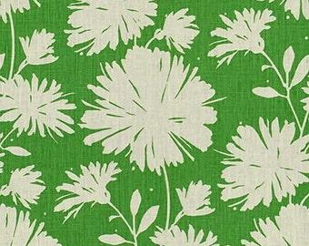 Designer Pillow Cover - 16 x 16, 18 x 18, 20 x 20, 22 x 22, 24 x 24 -KS Kravet - Daisyfield Green