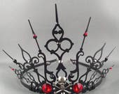 Custom Skull Gothique Crown