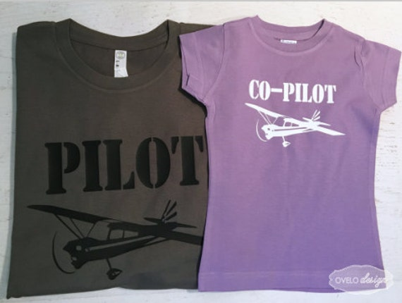 Pilot Co-pilot Family Pick your Aviation and color combo Paper Airplane