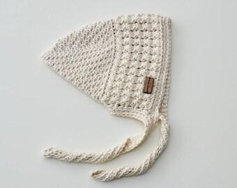 Spring Pixie Bonnet for a Newborn