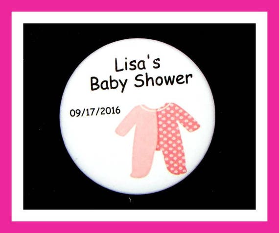 Baby Shower Sleeper Favor,Personalized Button,Favor Tag,Its a girl,Its a Boy,Party Favor,Birthday Party Favors,Personalized Favors,Set of 10