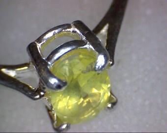 Beautiful Chrysoberyl Ring