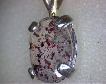 Beautiful Strawberry Quartz Pendant