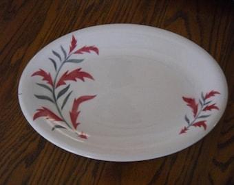 Vintage Steubenville Platter Russell Wright Pottery Ironstone Mid Century