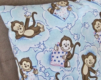 Travel Baby Toddler Small Day Care Nap Surgical Monkey Pillow