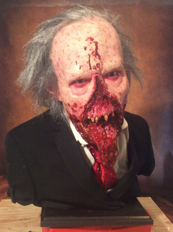 Dr Tongue Life size Bust From Day Of the Dead