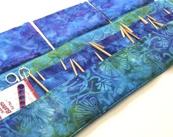 12 Pocket Circular Needle Case + 16 Pockets for DPN's