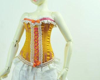 Sunset Memory BJD Antique Line Raouken Corset for Fairyland Minifee MSD BJD Doll