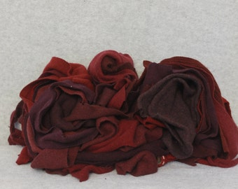 Recycled Cashmere Remnants - Burgundy 16oz