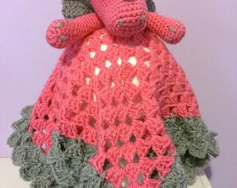 Pink Dragon Lovey