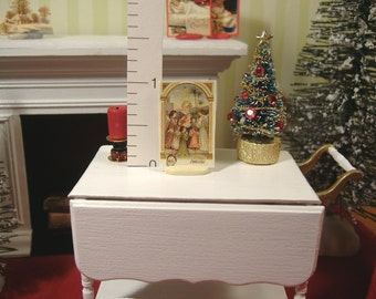 Miniature Christmas 1:12 Scale Paper Cut-Out