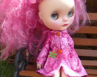 Blythe April Showers Retro Raincoat & Skirt (BD6917)