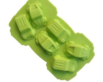 Silicone Soap Mold: Car Mold, Car Soap, Truck Mold, Truck Soap, Vehicle Mold, Boy Soap Mold, Small Soap Mold, 3D Mold, Flexible Mold, MOL010
