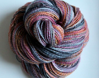 Handspun Yarn: Get Happy
