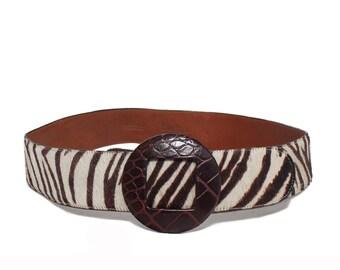 LRG | Terry Stack Collection Zebra Belt